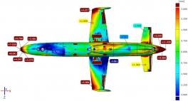 3D сканирование + анализ отклонений от CAD модели + анализ износа
