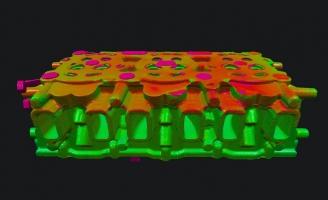 Комплексный рентген-контроль головки блока цилиндров