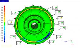3D сканирование + инжиниринг + реверсивный инжиниринг + 3D моделирование + анализ отклонений (2)