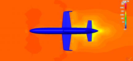 Расчет аэродинамики беспилотника